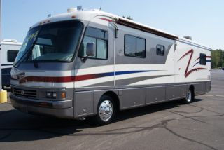 1997 Holiday Rambler 38 ft Diesel Custom Interior Well Maintained L K