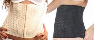 Body Shaper Post Natal Belt Butt Enhancer Slim Pants Lift Tummy Trimmer New UK