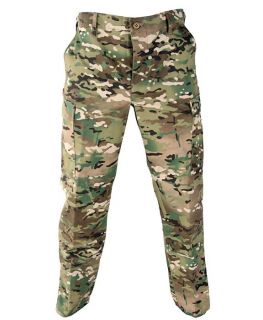 Propper Military Tactical Multicam BDU Pants Poly Cotton Twill Button Flys F5201