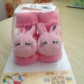 2013 Hot Unisex Cartoon Newborn Baby Non Slip Socks Slipper Shoes Boots WZ01C
