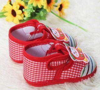 Infant Princess Prince Baby Shoe Little Cartoon Watermelon Red Soft Bottom Shoes