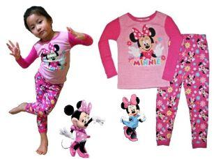 Baby Boy Girl Cartoon Character Snug Fit Pajamas Woody Dora Minnie Cars Jake