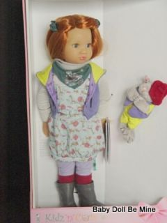 New Rieke Kidz and Cats Doll by Sonja Hartman for Madame Alexander 11 Joints