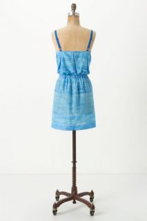 Anthropologie Lilka Lounging Poolside Chemise s M Dress Skirt Blue New $68