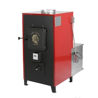 Fire Chief 100 000 BTU Indoor Wood Coal Burning Forced Air Furnace