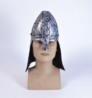 Soft Medieval Knight Crusader Helmet Fancy Dress New