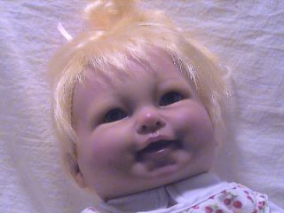 2007 Play Pretend Life Like So Real Baby Doll Needs A Home 17""