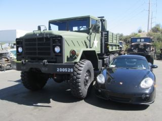 M931A1 Shorty 5 Ton Monster Military 6x6 Cargo Truck Tractor Cummins Diesel Auto