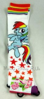 New My Little Pony Rainbow Dash Knee High Socks MLP Stars RARE Sold Out