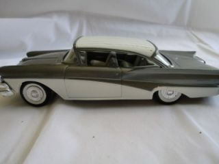 Vtg AMT 1958 Ford Fairlane 500 Promo Model Car
