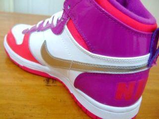 Original Girls Big Nike High Trainers High Tops UK Size 4 5 5 1 0 7