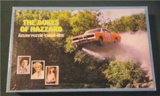 1981 Jigsaw Puzzle Casse Tete Dukes of Hazzard Pic 200 Pcs TV Show General Lee