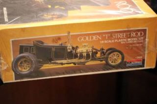 Monogram Revell 2609 1 8 Scale Golden T Street Rod Model Kit Unopened New