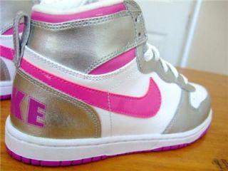 Original Girls Big Nike High Le Trainers High Tops UK Size 1 5 1 5 2