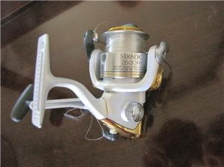 Shimano Stradic 2500 FH Spin Spinning Fishing Reel Bass Trout Pike 2500FH Used