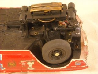 "Vtg AMT ""Authentic Model Turnpike"" TR 190 1962 Ford T Bird Thunderbird Slot Car"