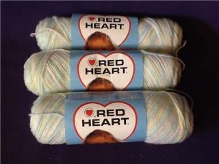 Red Heart Baby Fingering Blanket Yarn Color 931 Hushabye 100 Acrylic 230 Yrds