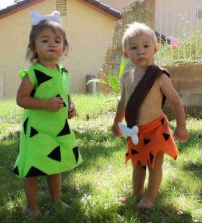 ... Pebbles Flintstone Halloween Costume 0 12 2T 3 5T Girls ...  sc 1 st  PopScreen & McCallu0027s 5555 Childs Flintstone Pebbles Bam Bam Dino Costume Pattern ...