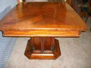 Italian Art Deco Walnut Vintage Dining Table 09IT063D BLOWOUT Sale