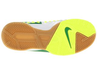Nike Kids Jr Ctr360 Libretto III IC (Toddler/Little Kid/Big Kid) White/Pine Green/Volt