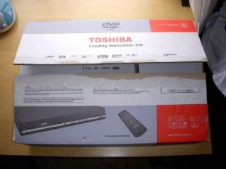 Toshiba D R400 DVD Recorder w Manual Cables Mint in Box Please Look