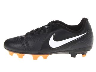 Nike Kids Jr Ctr360 Libretto III FG (Toddler/Little Kid/Big Kid)  Dark Charcoal/Black/Bright Citrus/White