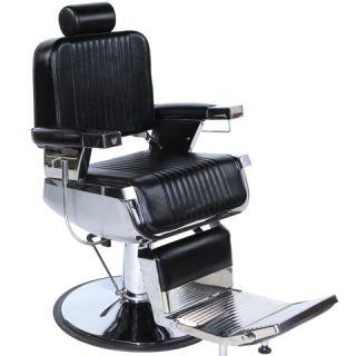 New Salon Equipment Hydraulic Reclining Black Barber Chair Styling Chair BC 71
