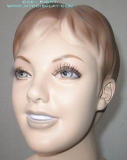 "Brand New 50""H Flesh Child Boy Mannequin Torso Form 56"
