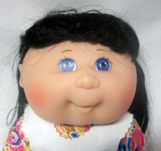 """Cabbage Patch Kids Doll Vintage 1988 Garden Girl with Apron Mattel 14"""" Tall"""