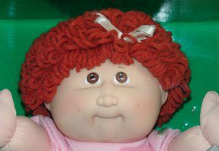 Cabbage Patch Kids Doll Idella Tamara March 2 Red Head
