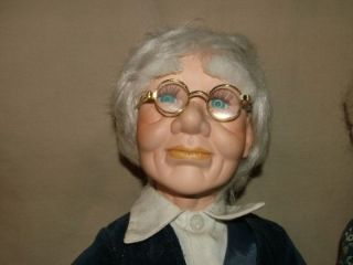 "20"" Ashley Belle Porcelain Dolls Set Grandma Grandpa Seniors"