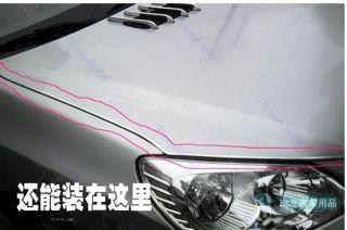 15M DIY Flexible Car Auto Truck Door Edge Guard Trim Molding Strip Protector S