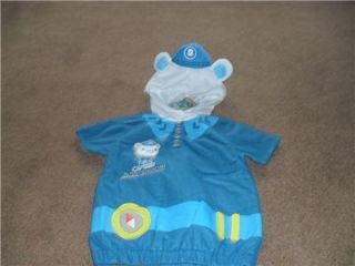 BNWT Octonauts Captain Barnacles Fancy Dress Outfit Dressing Up Costume 3 5 Yrs