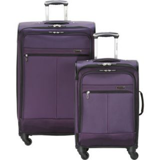 "Ricardo of Beverly Hills Escondido 2 Piece Spinner Set 20"" 28"" Purple"