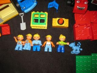 Bob The Builder Lego Duplo Compatables Building Toy Lot