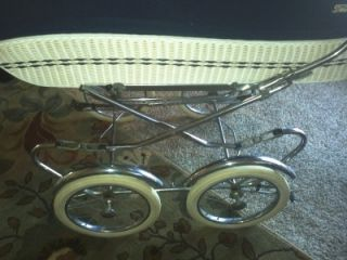 Vintage Peg Perego Baby Stroller Early 1950's Italy Good Condition
