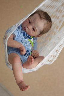 Reborn Baby Boy Doll Prototype Lillebror Sabine Altenkirch