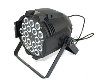 18X8W Tri Color RGBW in 1 LED Par 64 Tri 4in1 LED Par Light Stage Lighting DJ