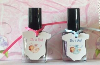 Baby Shower Favor Tags Mini Onesie Shaped Boy Girl Ships in 24 Hours