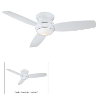 "Minka Aire Traditional Concept 52 52"" Ceiling Fan Model F594 WH in White With…"