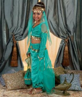 ... Genie L& Girl Child Costume Party Decoration Dress Up ...  sc 1 st  PopScreen & Genie In the Lamp Adult Costume