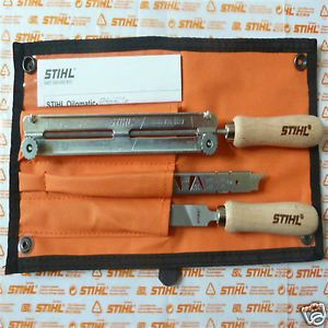 "Genuine Stihl Chainsaw Chain Filing Sharpening Kit 3 8"" PM 4mm 5 32"" as Oregon"