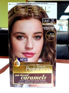 Loreal Preference Hair Color UL61 High Lift Ash Brown
