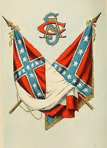 Civil War Confederate Flag Flags CSA 13x19 Print