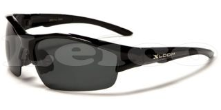 New Polarized x Loop Men Designer Sunglasses Hunting Fishing Half Frame 5 Colors