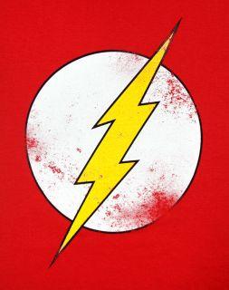The Big Bang Theory Sheldon Cooper Bazinga The Flash Womens Red Superhero