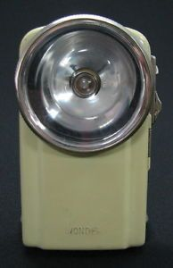 Vintage French Flashlight Wonder Type Cesar Lampe De Poche France On