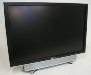 """Dell 2007WFPB UltraSharp 20 1"""" TFT LCD Flat Screen Display Monitor with Speakers"""