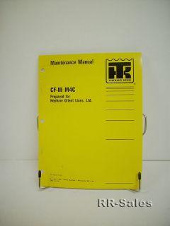 Thermo King Cfiii M4C Maintenance Manual Wiring Diagram
