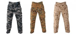 Propper Army Camouflage ACU BDU Pants Trousers Military Tactical Ripstop F5211